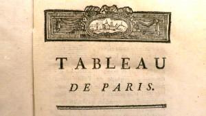 tableau de paris XX
