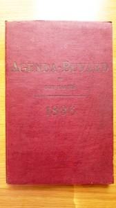 agenda buvard 1896 1