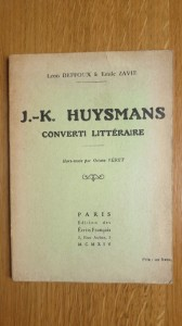 deffoux zavie huysmans converti littéraire 1